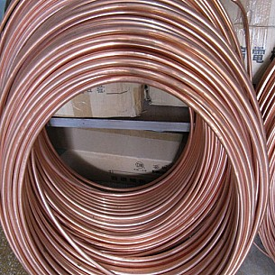 "1"" x 50 ft. Soft Copper Coil Tubing"