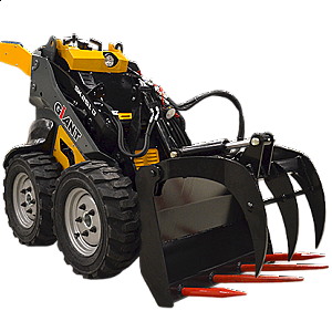MINI WHEELED SKID STEER